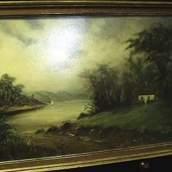 "Old School Painting""Early XX Century"" - Visual Art"