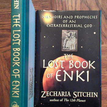 The Lost Book of ENKI by Zecharia Sitchin - Books
