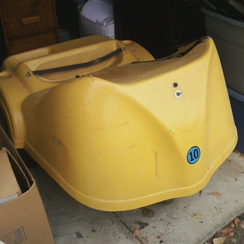 Rare early 1970's Electro-caddy golf cart