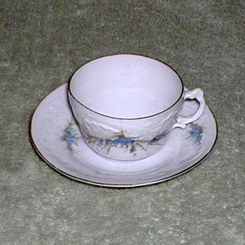 BFHS Porcelain Demitasse Cup and Saucer Set