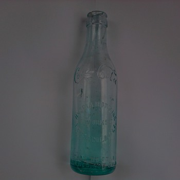 Early Coca Cola Hygeia Bottling Works Pensacola Bottle
