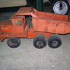 Cactus planter dump truck &quot;Buddy L&quot;