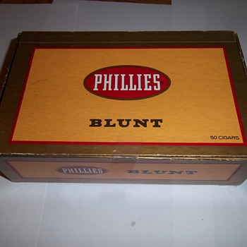 Phillies Blunt Cigar Box - Tobacciana