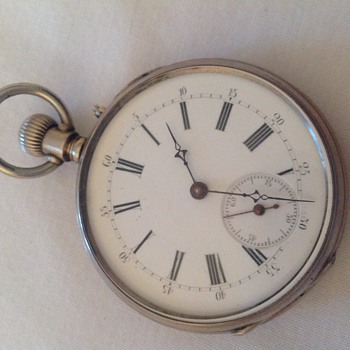 Pocket watch , now opened , any further clues??