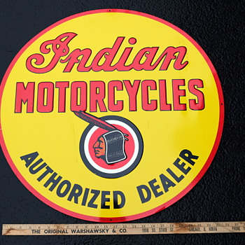 Indian Authorized Dealer sign