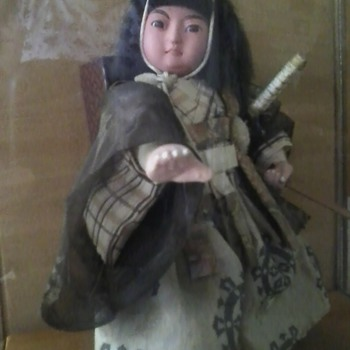 Antique Japanese Doll - Dolls