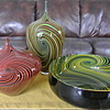 "Blown Glass from Jeff Holmwood ""Vortex"" Collection - Signed by Artist"