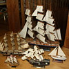 Wooden Model Tall Ships