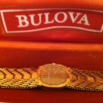 1975 Bulova Ladies Watch - Wristwatches
