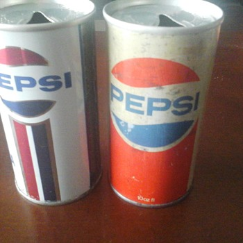Pepsi Cans - Advertising