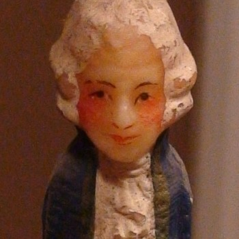 Vintage Colonial Candles of Cape Cod George & Martha Washington and Vintage Candle Holders - Lamps
