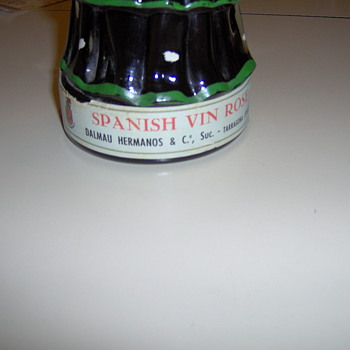 spanish lady wine bottle - Bottles