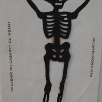 Cabaret du Néant Souvenir Card - Cards