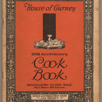 1927 - House of Gurney Cook Book - Books