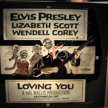 Elvis Presley poster plate's