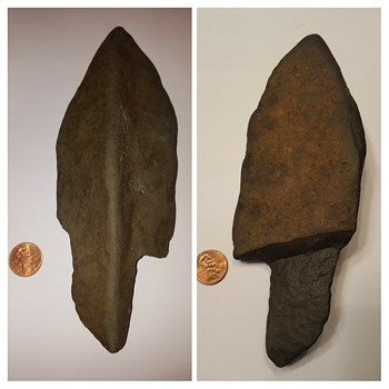 What kind of lithic is this? Way too large to be an arrowhead...