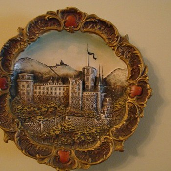 Antique Wall Plate/Hanging ~  - Art Pottery