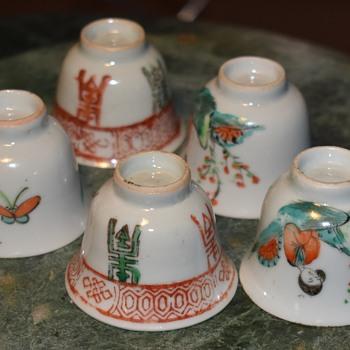Five little Sake Cups