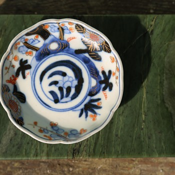Small Japanese Imari Nut Dish - Asian