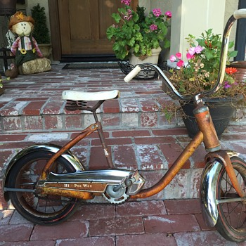 """Vintage ~""""50's kids bicycle - unreadable make, unmatchable style! - Sporting Goods"""
