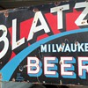 Blatz beer sign 2 sided