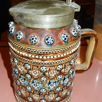 Strange Looking Beer Stein - Breweriana