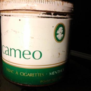 Cameo  Tobacco Tin - Tobacciana
