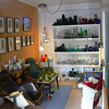 A glass collector&#039;s living room I