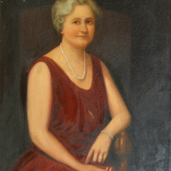 Mrs. McDonald DeWitt Painting By Wilber Fiske Noyes - Visual Art