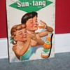 sun-tang celluloid advertising soda sign