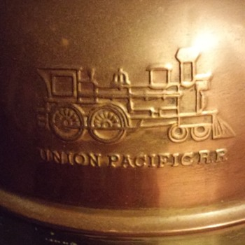 Railroad spittoon/lamp