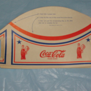 Coca-Cola Paper Hats? - Coca-Cola