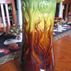 Art Nouveau/arts & crafts vase