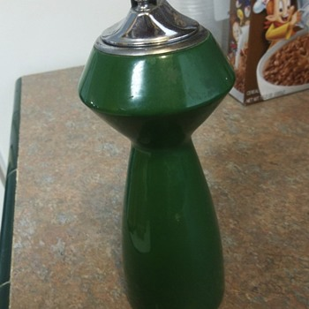 Tall Green Table Lighter