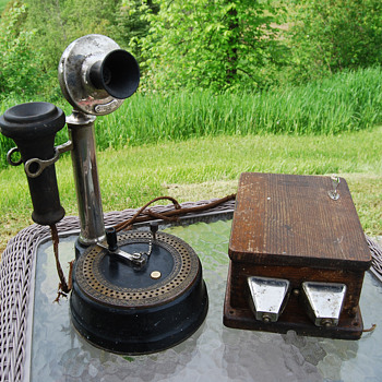 Antique Candle Stick Telephone Intercom?