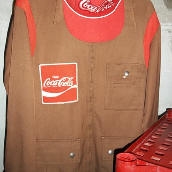Delivery Driver Coat & Hat - Coca-Cola