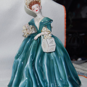 Florence Ceramic Figurine -- Georgette - Dolls