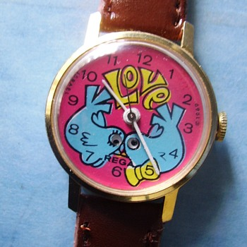 Peace, Love & Hippy Days Watch - Wristwatches