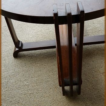 Art Deco -- Small End / or Side Table ( Post # 2 of 2 ) - Furniture