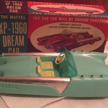 1950's Mattel Dream Car  - Toys