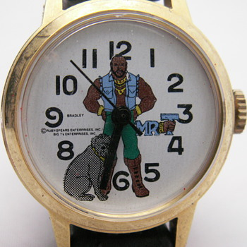 Mr. T &amp; Bulldozer Watch - Wristwatches