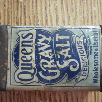 Queens Gravy Salt Can
