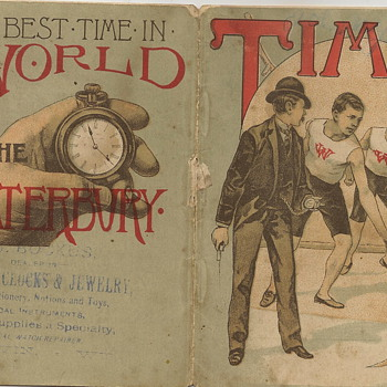 1887 Waterbury Watch Co., TIME!, Advertising Booklet Post #1 - Advertising