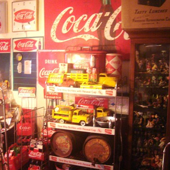 Upgraded Coca-Cola room