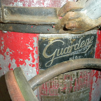 Guardene Fire Extinguisher late 1880's - Firefighting