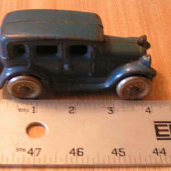 Cast Iron car?