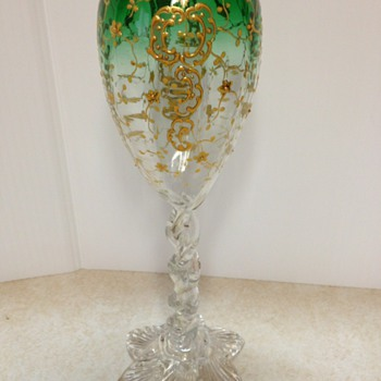 fabulous glass - moser type - Art Glass