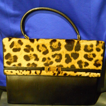 can you identify this leopard purse from mexico? - Bags