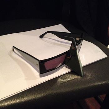 Alain Mikli Vintage Metal-Nose Sunglasses