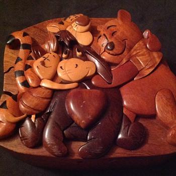 Winnie the Pooh puzzle box.